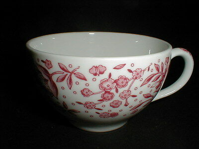 Syracuse China Carefree Pink Floral MAYFLOWER Cup/s