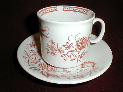 Barker Bros/Brothers England Rust CATHAY Saucer Only (loc-sau41)