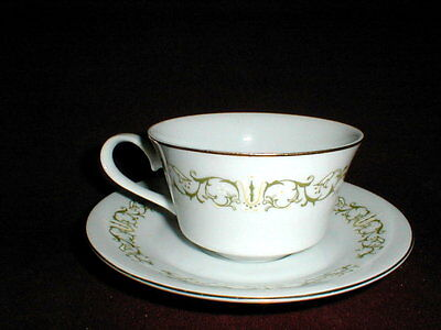 Fine China of Japan #2999 BELL FLOWER Cup Saucer/s