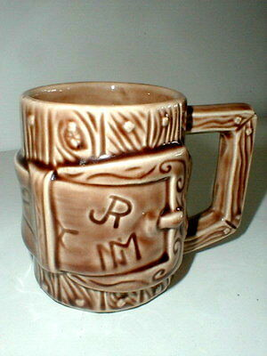 McCoy Pottery Western Ware JR Cattle Brand Mug/s
