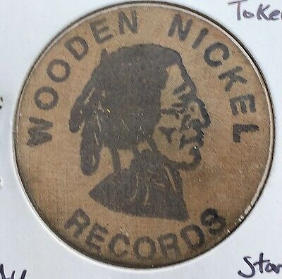 Wooden Nickel Records Token ~ High Grade!    #936-2