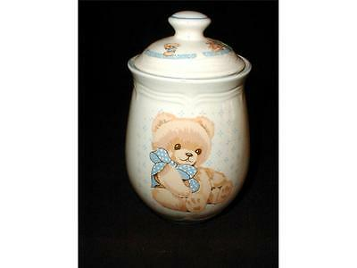 Tienshan China Teddy COUNTRY BEAR Coffee Canister