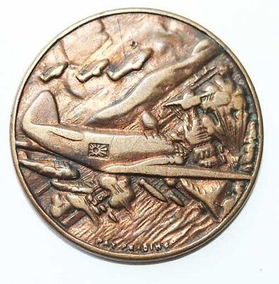 1941 Remember Pearl Harbor Token With Scene Of Airplanes