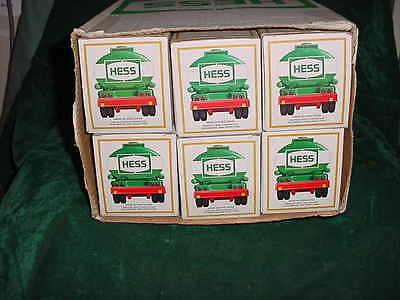 84 Xmas Christmas Collectable Trucks 1984 Hess Tanker Truck Toy Bank From Case