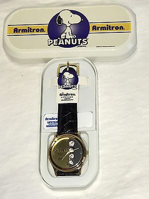 Peanuts Snoopy Armitron Quartz Watch in Case Brand New Charlie Brown Lucy Linus