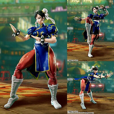 S.H. Figuarts Street Fighter Chun Li action figure Bandai U.S. seller
