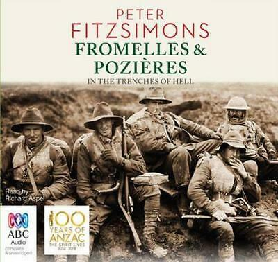 NEW Fromelles & Pozieres By Peter FitzSimons Audio CD Free Shipping