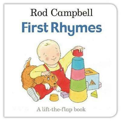 NEW First Rhymes By Rod Campbell Board Book Free Shipping