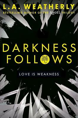NEW Darkness Follows By L. A. Weatherly Paperback Free Shipping