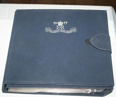 1977 The Queens Silver Jubilee First Issue Stamp Collection
