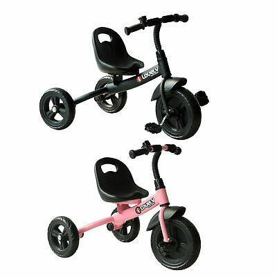 Kids Children Tricycle Baby Scooter Ride on Trike 3 Wheels Toddler Safety Toy