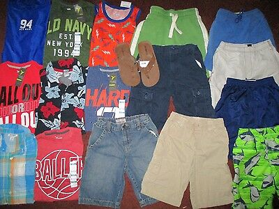 Boys Summer Size 7 8 Lot CLOTHES & OUTFITS  TCP Okie Dokie Old Navy NWT EUC
