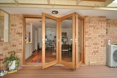 Bi fold Door BIFOLD SET........Lovely Timbers !! ..2400's....  FREE DELIVERY