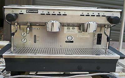 RANCILIO Classe 6 E 2GR Expresso Express Hot Coffee Cappuccino Machine 220-240V