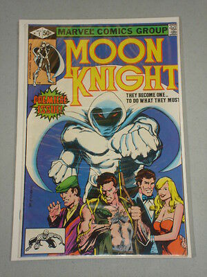 Moon Knight #1 Vol 1 Sienkiewicz Art New Origins November 1980