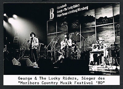 George & The Lucky Riders, Country Musik music, Pressefoto Press Photo /120