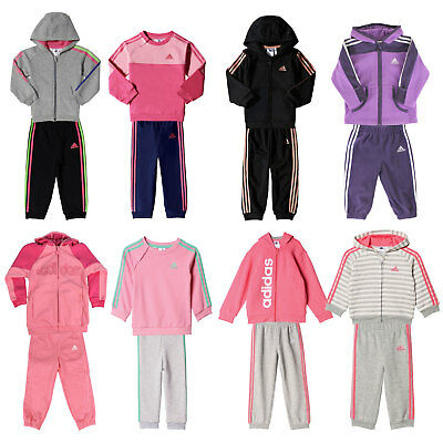 ADIDAS PERFORMANCE BABY JOGGER Kinder Jogginganzug Mädchen Trainingsanzug Set