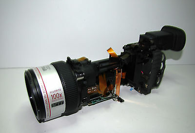 CANON Lens Asembly with 3CCD sensor + Viewfinder Block PART FOR GL2