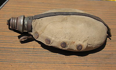 Antique Wwi Ww1 German Military Combat Canteen Flask Signed Nurnberg 1916