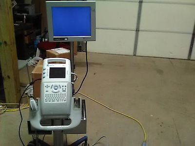 SonoSite 180 Plus w/ Transducer, stand,  & Printer
