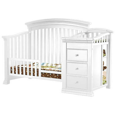 Sorelle Verona Crib and Changer Toddler Rail - French  [Crib Not Included]