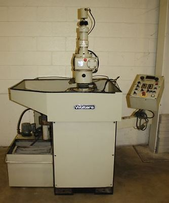 """18.7"""" Peter Wolters Microlap AC500 Two-Wheel Flat Abrasive Lapper/Polisher"""