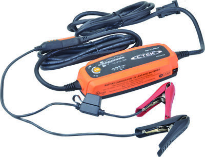 Battery Charger Portable 120 VAC Input Max 5A Charge Rate, Splash & Dust Proof