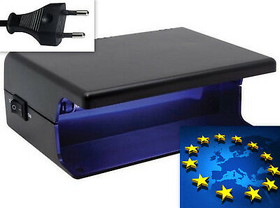 vellemant electronic start UV lamp counterfeit money credit cards detector 220v