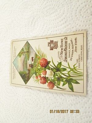 New Home Sewing Machine Co. Trade Card