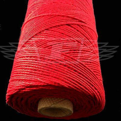 SOLID RED FESTIVE CHRISTMAS BAKERS TWINE 2mm 2 PLY - STRING CORD WRAP EVERLASTO