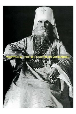 mm558 - Pallady priest who crowned Czar in 1896 - photograph
