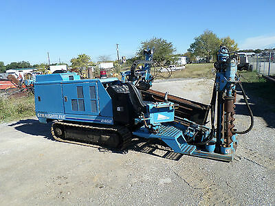 00 Straightline 2462 Horizontal Directional Drill And Mixer Good Condition!!