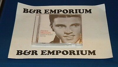 Ricky Nelson Greatest Hits (2005 Capitol Records 09463-12662-2-9) New Sealed CD
