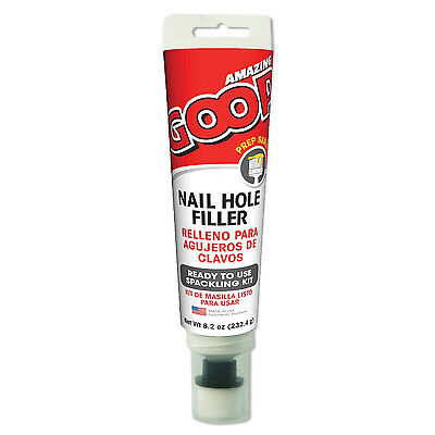 AMAZING GOOP  Painters NAIL HOLE FILLER White 8.2OZ
