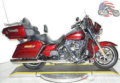 2015 Harley-Davidson Touring  2015 Harley Davidson Electra Glide Ultra Classic Low FLHTCUL w/ Limited Features