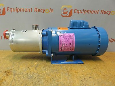 """Goulds 1HM1F4E0 Centrifugal Pump 15 gpm 1-1/4"""" NPT Inlet x 1"""" NPT Outlet New"""