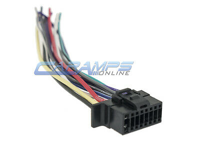 new 16 pin wire harness for boss audio bv9364b player ... boss wiring harness 16 pins ford wiring harness pins