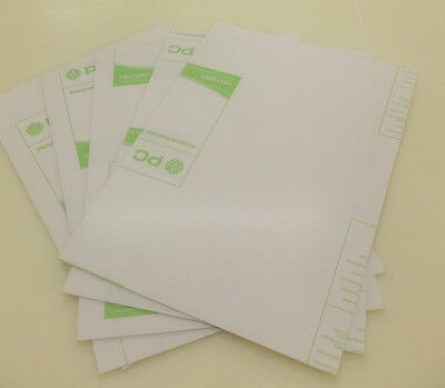 5 Pack 2MM CLEAR  POLYCARBONATE SHEET A5 SIZE 210MM X 148MM PLASTIC PANEL