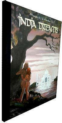 Tirage Limite - India Dreams T.07 - Maryse & Jean-Francois Charles - Bd'empher