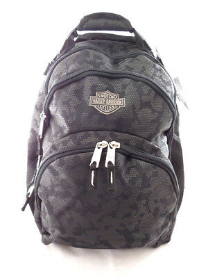 Harley Davidson Bar & Shield B&S Steel Nightvision Rucksack Tasche Backpag 99220