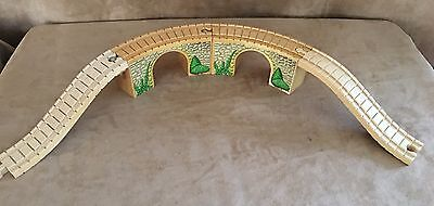 Thomas Arched Viaduct clickity clack track set 2 Wooden learning curve wood