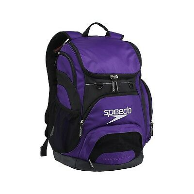 Speedo Large Teamster Backpack Swim Bag 35 L Liter SPEEDO PURPLE New with Tags