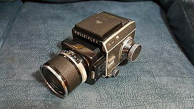 Rollei SL66 film camera With Planar 50mm f/4 lens.
