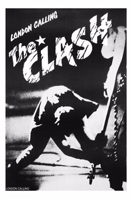 The Clash London Calling poster print 24 X 36