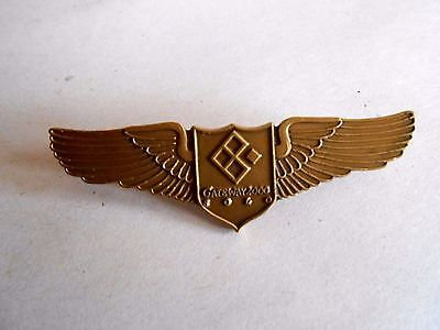 Vintage Gateway 2000 Solo Computer Advertising Wings Lapel Pin