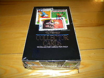 1991 Impel Walt Disney Collector Trading Cards Box of 36 Unopened Packs Sealed
