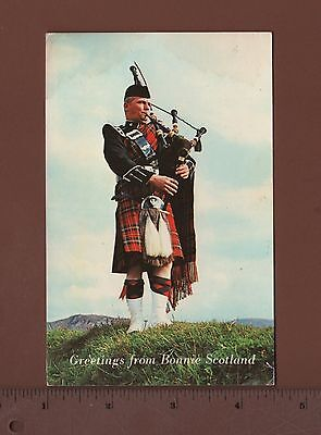 #AS10 - Greetings From Bonnie Scotland 1975 Postcard