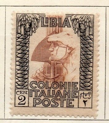Libya 1921 Early Issue Fine Mint Hinged 2c. 151472