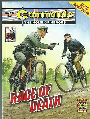 Race Of Death,commando The Home Of Heroes,no.4627,war Comic,2013