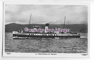 f1197 - Scottish Ferry - Marchioness of Graham - postcard